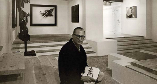 Fernando Zóbel in the Museo de Arte Abstracto Español in Cuenca in 1966. Photo: Archivo Fundación Juan March