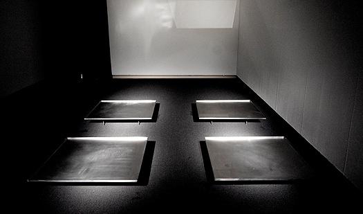 """Mikel Arce. """"*.WAV"""", 2004. Instalación sonora en el Museu Fundación Juan March, Palma. Colección del artista"""