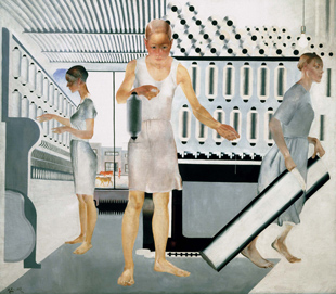 Las trabajadoras textiles, 1927