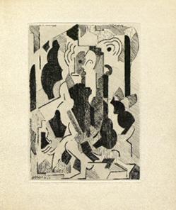 Albert Gleizes [Sin título, 1946]: Albert Gleizes y Jean Metzinger, Du cubisme