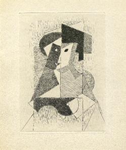 Jean Metzinger [Sin título, 1946]: Albert Gleizes y Jean Metzinger, Du cubisme.