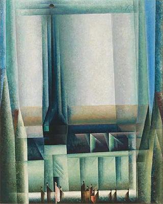 """""""Gelmeroda VIII"""", 1921. Whitney Museum of American Art, Nueva York. © Whitney Museum, N.Y."""