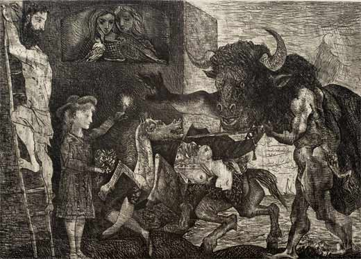 Pablo Picasso: la Minotauromaquia