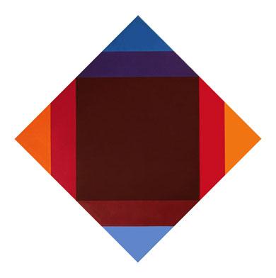 Die kunstwerke max bill verdichtung zu caput mortuum for Minimal art kunstwerke