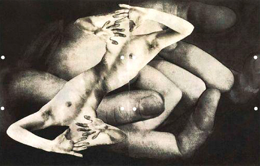 Karel Teige, S. t., 1943. Photocollage