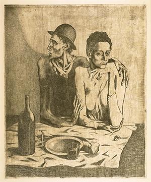 Pablo Picasso, Le repas frugal [La comida frugal], 1904