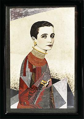 "Jean Dunand. ""Madame Agnès"", 1927. Cortesía Galerie Michel Giraud, París"