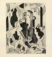 """Albert Gleizes [Sin título, 1946]: Albert Gleizes y Jean Metzinger, """"Du cubisme"""". París: Compagnie Française des Arts Graphiques, 1947 © Vegap, Madrid, 2015"""