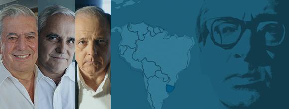 Juan Carlos Onetti visto por Mario Vargas Llosa, Juan Cruz y Emilio Gutiérrez Caba