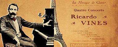 París 1905. Viñes, una historia de piano