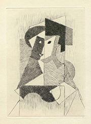 """Jean Metzinger [Sin título, 1946]: Albert Gleizes y Jean Metzinger, """"Du cubisme"""". París: Compagnie Française des Arts Graphiques, 1947 © Vegap, Madrid, 2015"""