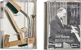 """Javier Maderuelo. """"Pieza para piano"""". Galería Estampa. Ediciones de Arte Contemporáneo, 1990."""