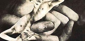Karel Teige, S. t., 1943. Fotocollage