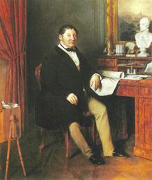 Retrato de Conrad Graf