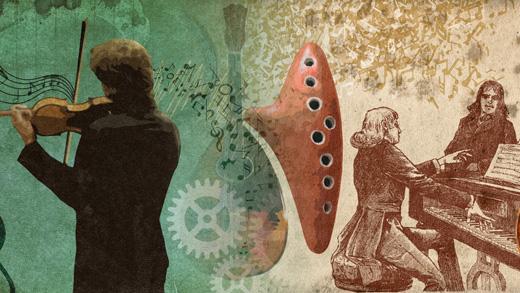 Imagen descriptiva de 'Ruido-Máquinas-Música' y 'De raiz popular: inspirados por el folclore'