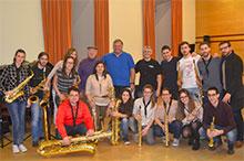 Grupo de saxofones del Real Conservatorio Superior de Música de Madrid
