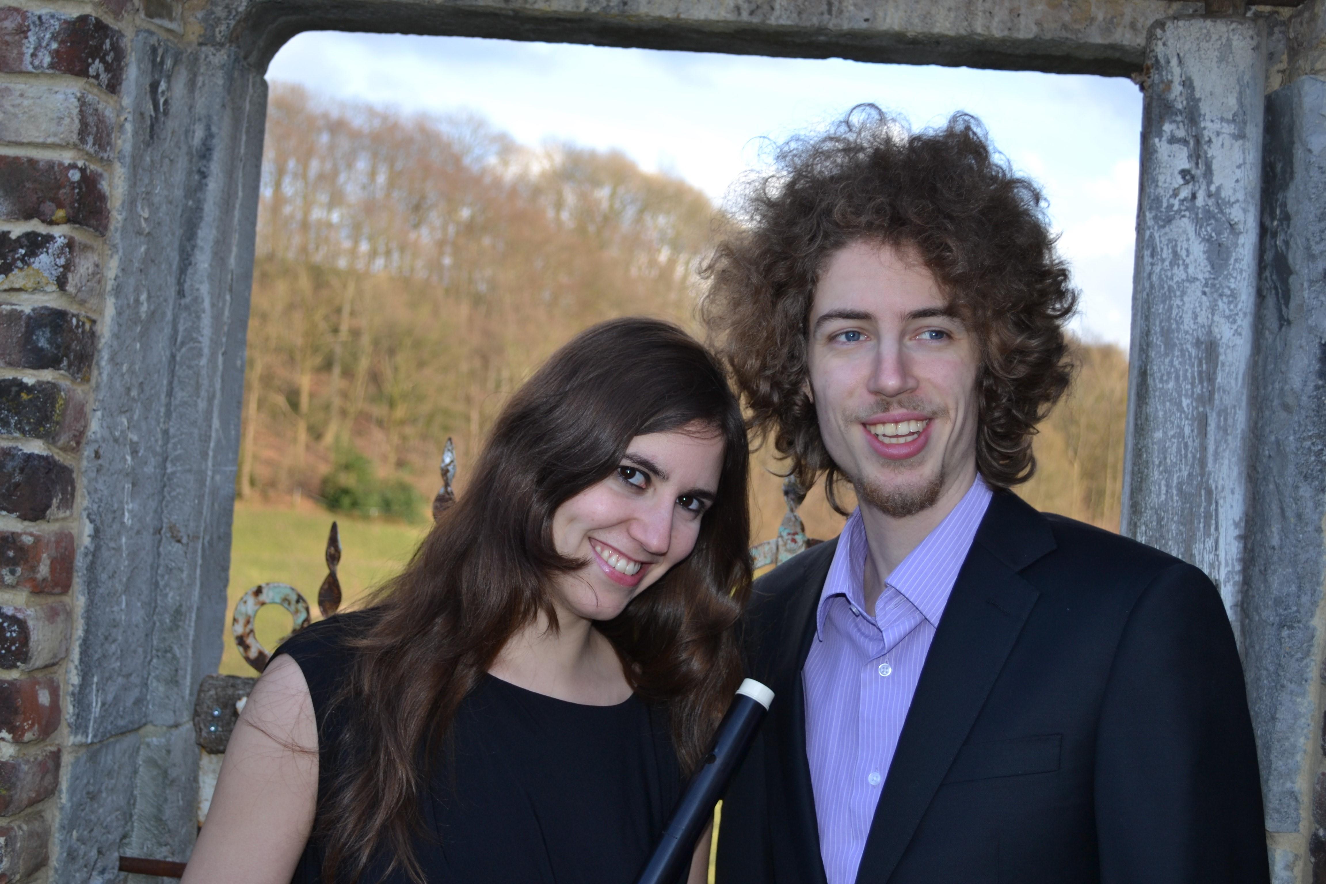 Ada Pérez y Tim Veldman