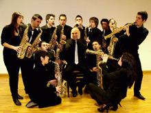 Ensemble de saxofones del Conservatorio Superior de Música de Aragón