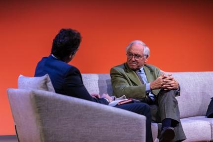 De izda. a drcha.: Íñigo Alfonso y José Álvarez Junco