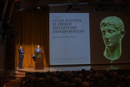 De izda. a drcha.: Francisco Pina Polo y Sergio Cabrerizo Romero