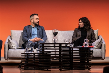 De izda. a drcha.: Andrés Mourenza, Carmen Rodríguez López y Antonio San José