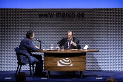 De izda. a drcha.: Íñigo Alfonso y Francisco J. Laporta
