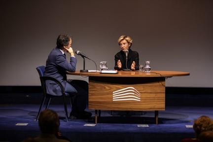 De izda. a drcha.: Íñigo Alfonso y Soledad Sevilla