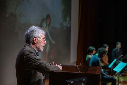 De izda. a drcha.: Fernando Doménech, Isabel Dimas, Alejandro Saá y Isabel Madolell