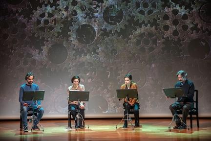 De izda. a drcha.: Alejandro Saá, Isabel Dimas, Isabel Madolell y Chema Adeva