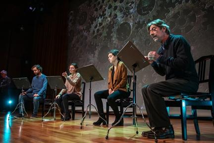 De izda. a drcha.: Fernando Doménech, Alejandro Saá, Isabel Dimas, Isabel Madolell y Chema Adeva