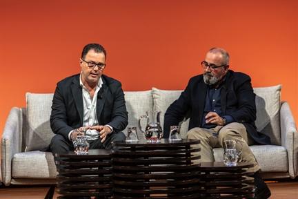De izda. a drcha.: Federico Martinón-Torres y Ignacio López-Goñi