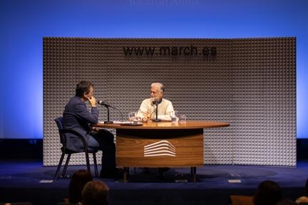 De izda. a drcha.: Íñigo Alfonso y Ricardo Amils