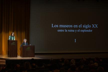 De izda. a drcha.: Lucía Franco y María Bolaños