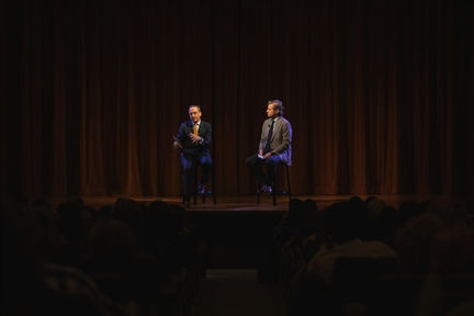 De izda. a drcha.: Manuel Fontán del Junco y Javier Gomá Lanzón