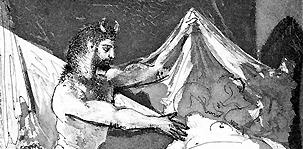 Grabados de Picasso: a la manera de Rembrandt
