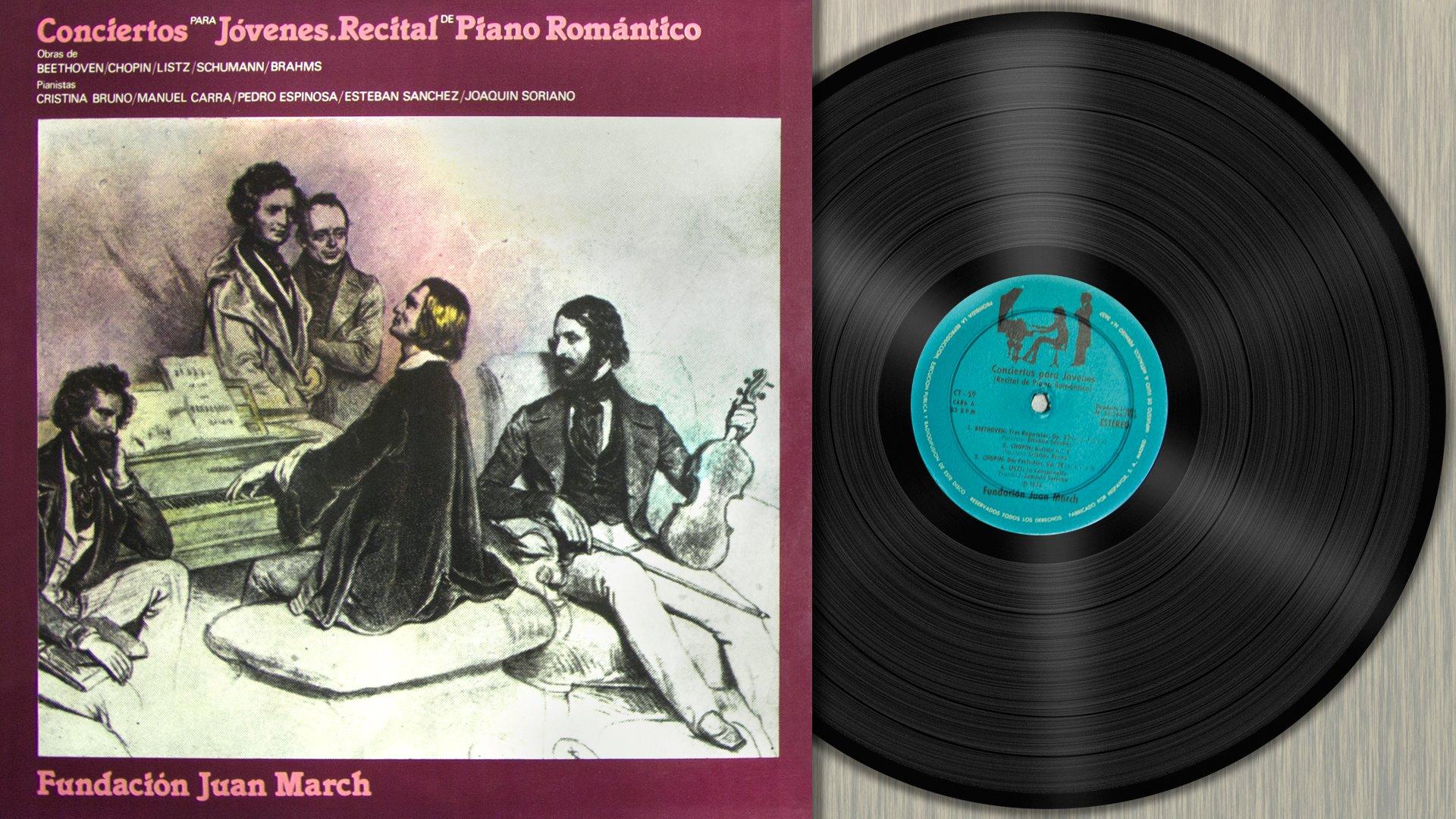 Grabaciones históricas de pianistas españoles