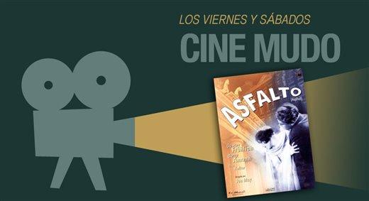 "Proyección de la película ""Asfalto"""