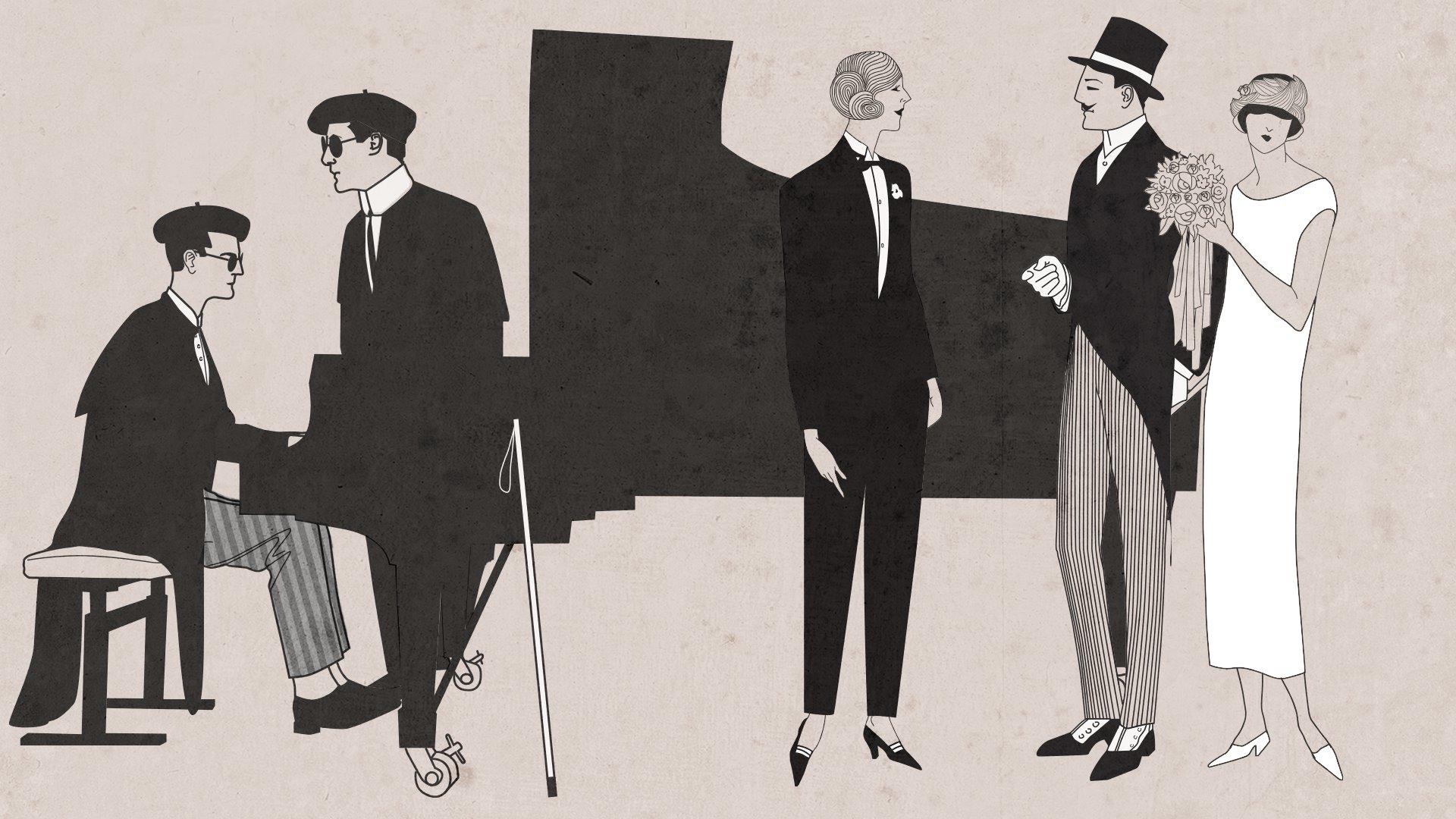 Los dos ciegos, de Francisco Asenjo Barbieri y Une éducation manquée, de Emmanuel Chabrier