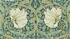 """Inauguración de la exposición """"William Morris y compañía: el movimiento Arts & Crafts en Gran Bretaña"""". William Morris & Gustav Holst."""