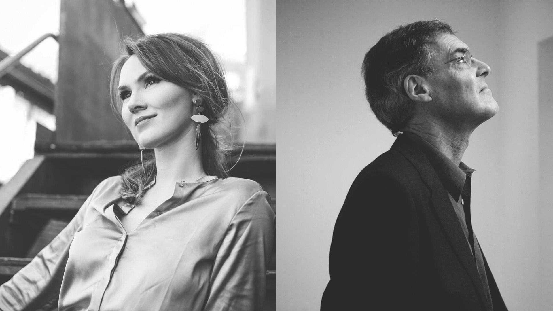 Marta Fontanals-Simmons y Roger Vignoles