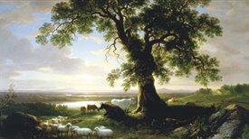 """Las raíces norteamericanas de Ives y Copland, en paralelo a la exposición """"Los paisajes americanos de Asher B. Durand (1796-1886)"""" (I)"""