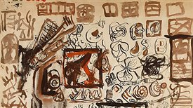 "Música norteamericana del siglo XX, con motivo de la exposición ""Expresionismo abstracto: obra sobre papel"" (I)"