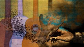 Paintings that come to life in sound: From the vihuela to the electric guitar