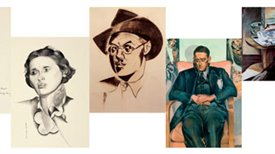 Portrayal of Ezra Pound