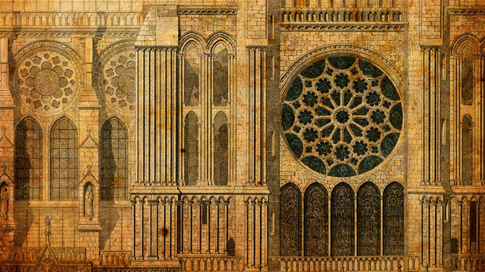 The Gothic Cathedral: the Building of Light