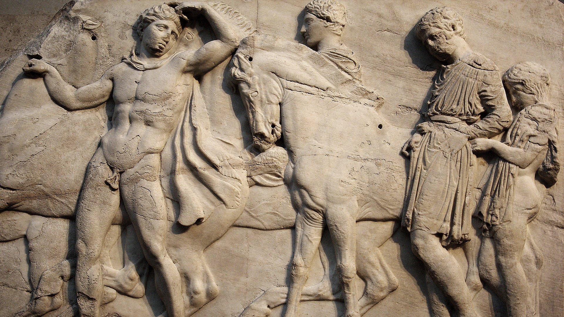 Los escultores griegos del siglo V a. C.
