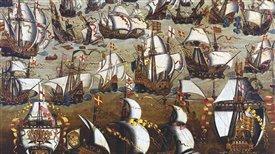 La historia de la Gran Armada española (1588) y la Contra Armada inglesa (1589) (II): La Contra Armada inglesa (1589)