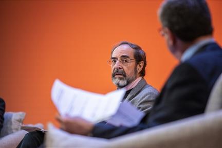 De izda. a drcha.: Felipe Sahagún y Antonio San José