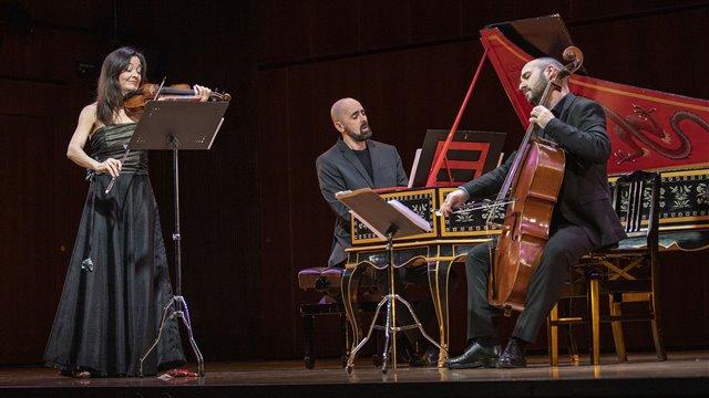 Corselli: Sonata for violin in D major