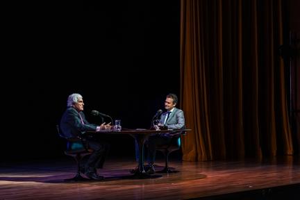 De izda. a drcha.: Antonio Alvar y Íñigo Alfonso
